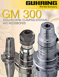Guhring GM 300 Toolholders, Clamping Systems and Accessories