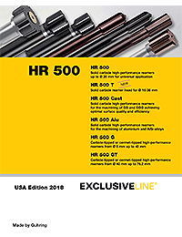 Guhring HR 500 Exclusive Line