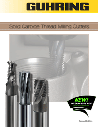 Guhring Solid Carbide Thread Milling Cutters Interactive