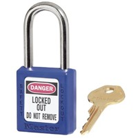6 PIN  BLUE SAFETY LOCK-OUT
